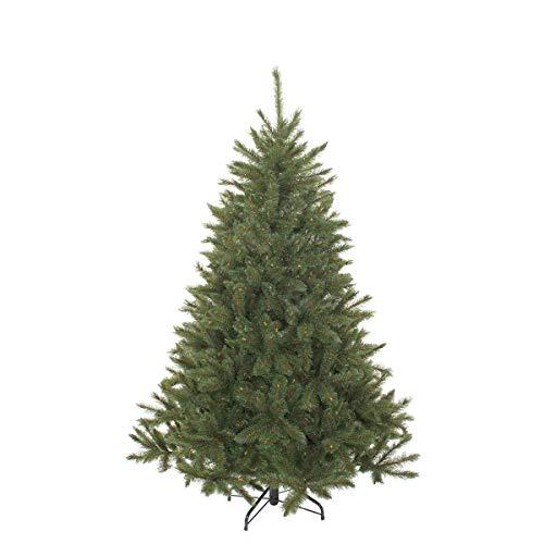 triumph tree 155 cm Hochwertiger künstlicher Weihnachtsbaum Bristlecone Fir grün, Zweige 438, mit Metallständer, schwer entflammbar - Tannenbaum – Christbaum