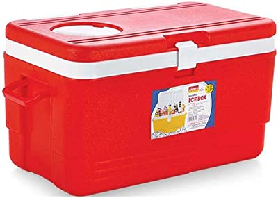 Aristo Insulated Chiller Ice Box With Vent Lid 50 Ltr (Red)
