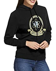 Yuantaicuifeng Midtown School of Science en Technology Womens lange mouwen Pullover Hoodie Sweatshirts