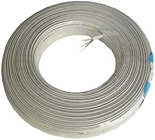 WTYD Network Accessories RJ11 to RJ11, Telephone cable, 2 core, Length: 120M for Network