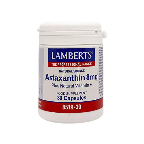Lamberts Astaxantina 8mg con Vitamina E 30 g
