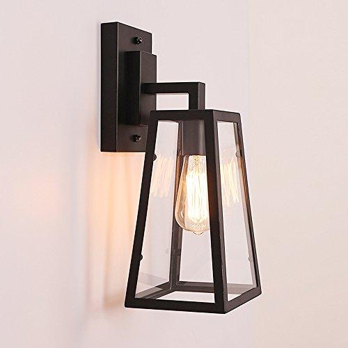 5151BuyWorld Retro Amerikaanse landbouwwandlamp, wandlamp, creatief glazen bakje, licht, balkon, restaurant, bar, gang, LED