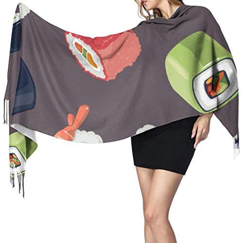 Kevin-Shop 27 'x 77' zachte sjaal kasjmier heerlijk lekker lief sushi lifhtweight sjaal vrouwen sjaal lichte stijlvolle grote warme deken