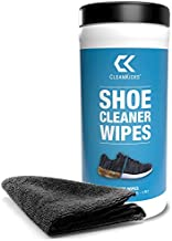 CleanKicks Shoe Cleaner Wipes - Removes Scuffs and Dirt Buildup - Includes Microfiber - (30 Count)