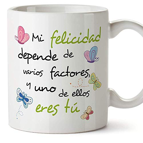 MUGFFINS Taza Original de Desayuno para Regalar a Amigas Amigos y Seres...