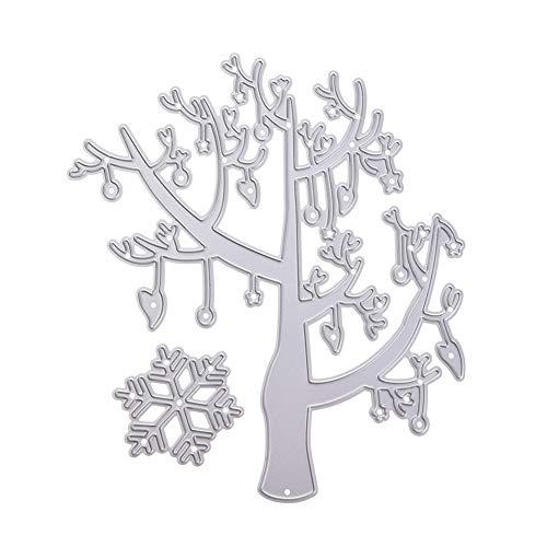 LanLan New Tree Cut metalen sjabloon vorm knutselen scrapbook embossing album papier card ambachtelijk