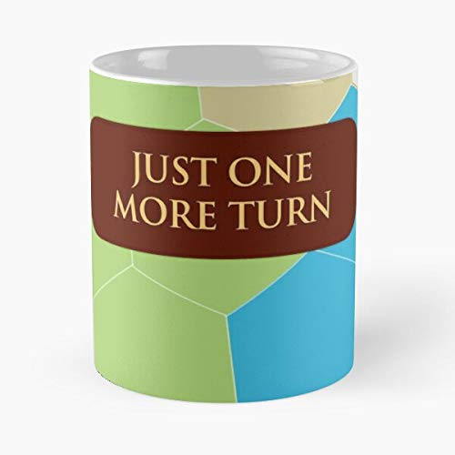 Videogame 5 Civ Game Geek 6 Strategy Civlization Best 11 Ounce Ceramic Coffee Mug Best - Taza de café (350 ml), diseño de Nespresso