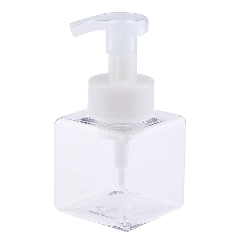 アデレードテレビを見るキルスポンプボトル 泡 ディスペンサー ボトル 泡立つ 石鹸 ポンプびん 250ml 6色選べ - クリア