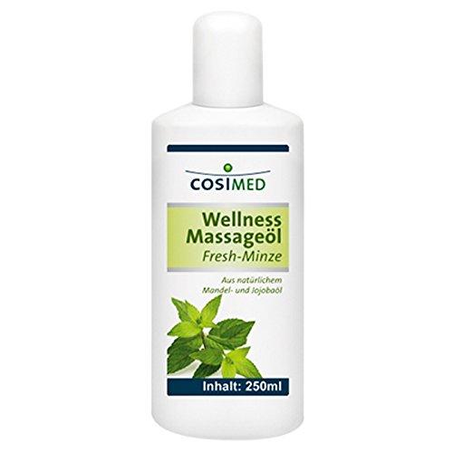 CosiMed Wellness Massageöl Fresh Minze, 1er Pack (1 x 250 ml)