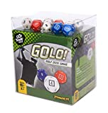 GOLO Golf Dice Game | For Golfers, Families, and Kids | Portable Fun Game for Home, Travel, Camping, Vacation, Beach | Award Winner
