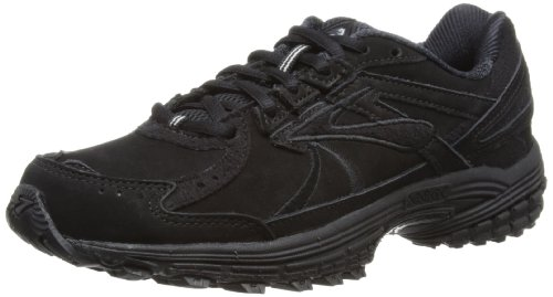 Brooks Adrenaline Walker, Damen Laufschuhe, Schwarz, 39 EU / 6 UK