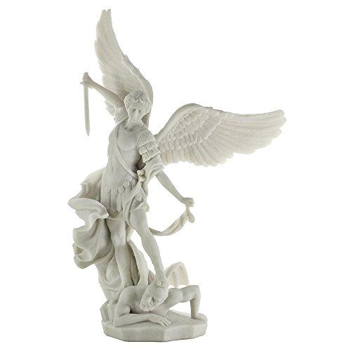 Erzengel St. Michael besiegen der Teufel Statue