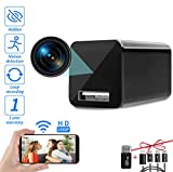 [Upgrade] Spy Camera Wireless Hidden WiFi Camera with Remote View,Hidden Spy Camera 1080P HD Nanny...