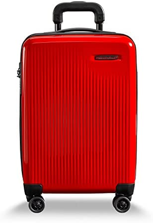 Briggs Riley Sympatico Hardside CX Expandable Carry On Spinner Luggage Fire 21 Inch product image