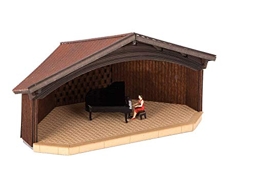 Noch 66827 Open Air Piano Concert Laser Cut Kit with Microsound