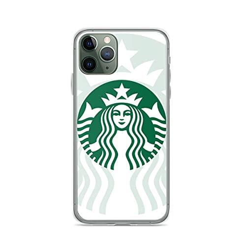 Cabina telefonica Starbuck Cover Compatibile con iPhone 12/12 Pro Max 11 pro Max XR X/Xs Max SE 2020 7/8/6/6S Plus Cases