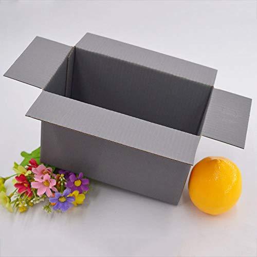 30 stks Kleurrijke Gegolfde Doos Klein Papier Geschenkdoos Grote Express Kartonnen Doos Kraft Verzending Mailer Box Present Opbergdoos