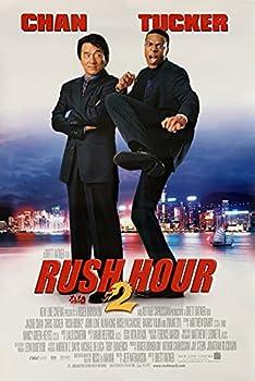 RUSH HOUR 2 MOVIE POSTER 2 Sided ORIGINAL FINAL 27x40 CHRIS TUCKER