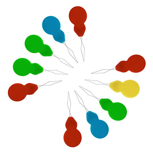 LYTIVAGEN 20 PCS Enhebrador de Aguja de Plástico, Needle Threaders con Caja Transparente Máquina de Enhebrado de Aguja para Proyectos de Manualidades de Costura (Color Aleatorio)
