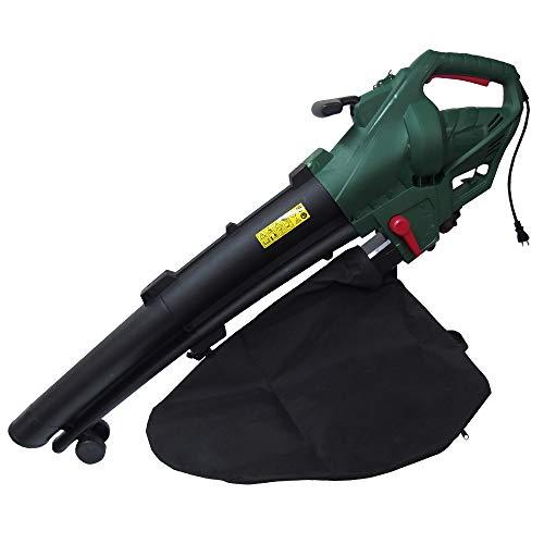 電源式 パワフル電源式 ブロワバキューム 1個 ブロワー ブロア ハイパワー 落葉 枯れ葉 強力 集塵 吸引 粉砕 掃除 清掃 家庭用 庭