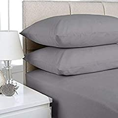 Size: Super King Fitted Sheet (182 x 203 + 40 CM) Material= Finest 100% Egyptian Cotton. Will fit any mattress from 6 inches to 16 inches deep. Instructions : Machine Washable at 40 C , can be tumble dried. Yourabsolutesatisfactionisimportantto...