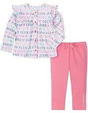 Calvin Klein Baby Girls' 2 Pieces Jacket Pants Set
