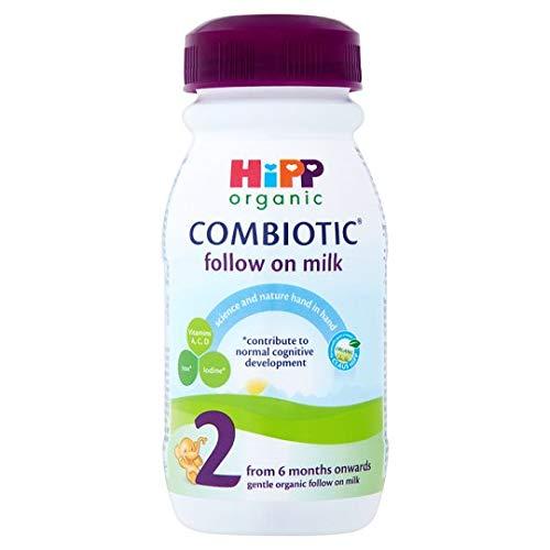 Hipp UK Ltd A | Hipp Follow On Milk – bereit zum Füttern, 5 x 250 ml (UK)