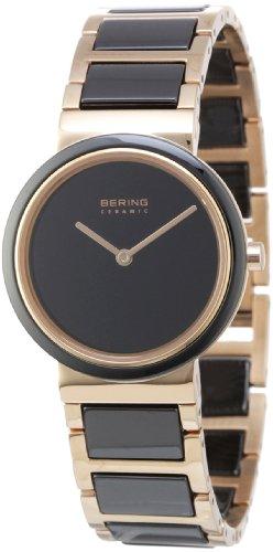 BERING Damen-Armbanduhr Analog Quarz Edelstahl 10729-746