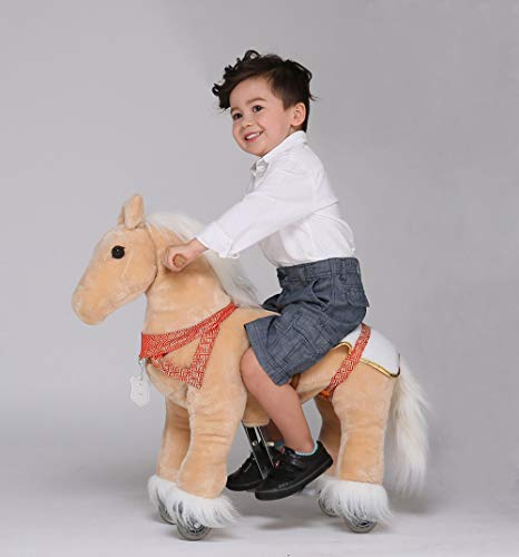UFREE Riding Rocking Horse, Action Toy, Go Without Battery, 3 to 6 Years Old
