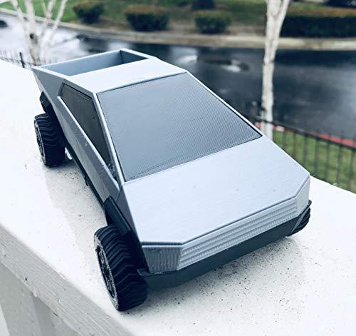3D Printed Tesla CyberTruck   1/26th Scale   Functioning Wheels