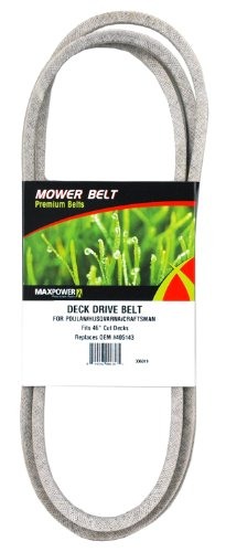 Maxpower 336319 Deck Drive Belt for 46' Cut Poulan/Husqvarna/Craftsman, 405143, 532405143, 58445310 and Many Others