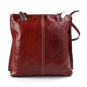 Damen tasche handtasche rucksack damen ledertasche schultertasche leder tasche henkeltasche umhängetasche rot