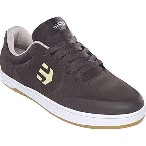 Etnies Zapatos de skate Marana para hombre, marrón (Café/Blanco), 44 EU