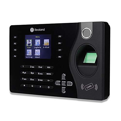 uoweky Reloj Biométrico de la Máquina de la Hora del Empleado de la Oficina...