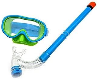 YITU Kids Silicone Scuba Swimming Swim Diving Mask Snorkel Glasses Set Anti Fog Goggles
