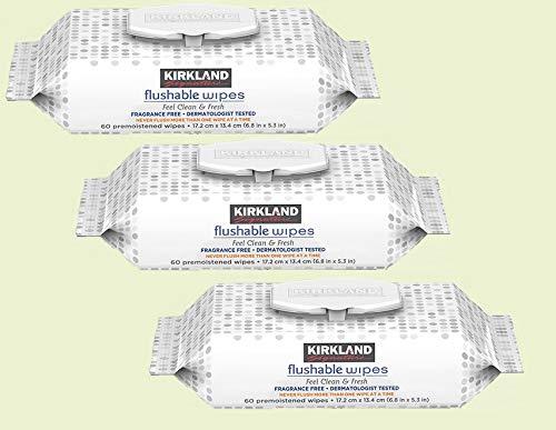 Are Kirkland Signature Baby Wipes Flushable?