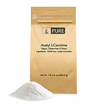 Pure ALCAR Acetyl L-Carnitine Powder  1 lb  Gluten-Free & Vegan Improve Memory & Energy Eco-Friendly Packaging*