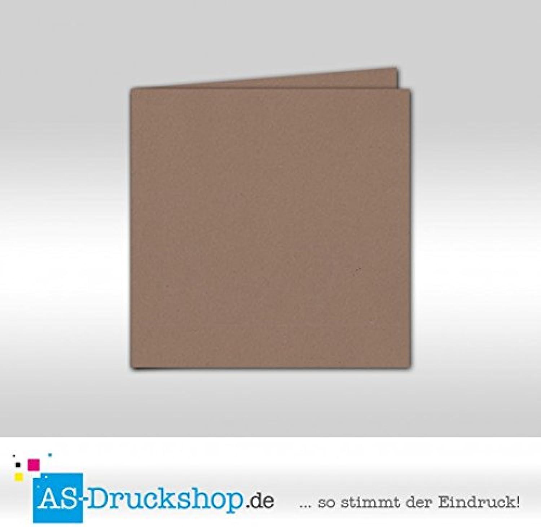 Faltkarte - Grocer-kraft - Naturfarbe 50 Stück Stück Stück Quadratisch 155 x 155 mm B0794XYQRP   | Niedriger Preis und gute Qualität  d4e26e