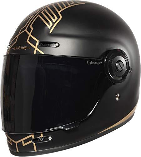 Origine Helmets Vega + Dark Visor Limited Edition: Ten Black - Matt - TG M