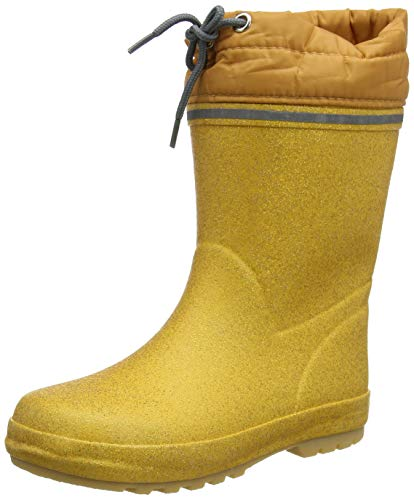 CeLaVi Thermal Wellies with Linning, Botas de Lluvia Unisex bebé, Pale Gold, 20 EU