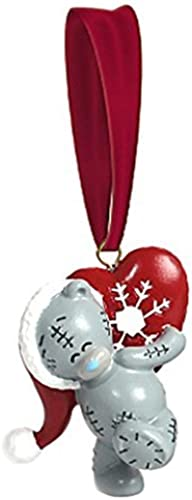 Me to You Bear with Heart Resin Tree Decoration by Me To You