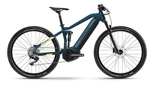 Winora Bicicleta eléctrica Haibike FullNine 5 Yamaha 2021 (XL/52 cm, azul/Canario)