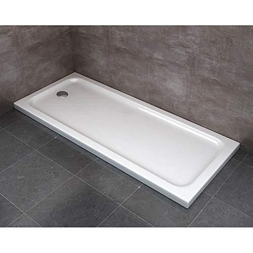 Piatto Doccia 70x170 cm in ABS Rinforzato Easy Bianco