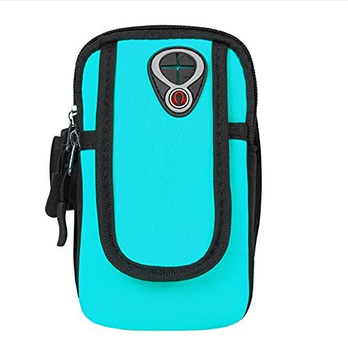 JUN Funda para brazalete de teléfono para correr con la mejor correa para el brazo, para hacer ejercicio, para iPhone 5S, SE, 6, 6S, 7, 8, Android, Samsung Galaxy S5, S6, S7 S8