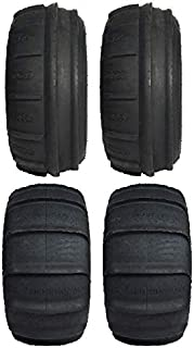 Full set of GMZ Sand Stripper XL (4ply) 32x11-15 and 32x13-15 ATV Tires (4)
