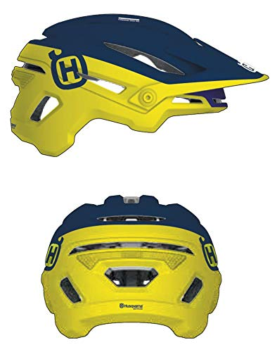 Husqvarna Casco MTB Bell Remote Sixer MIPS Blue Yellow Talla M (55-59)