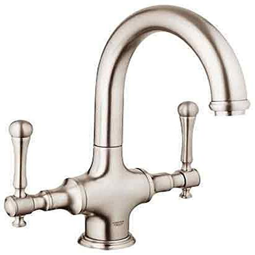 Best Deals! Grohe K31055-18244-ENE Bridgeford Bar Faucet with Handles