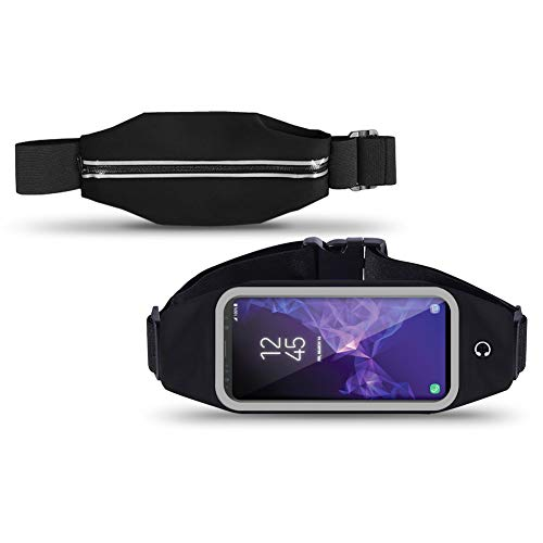 Nauc Sacoche banane ceinture smartphone pour jogging