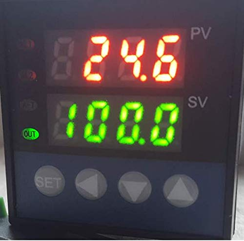 Programmable PID Temperature Controller Ramp and Soak SSR Output with 60 Segment timely Cycles fr Kiln Paragon Ceramic Pottery Glass