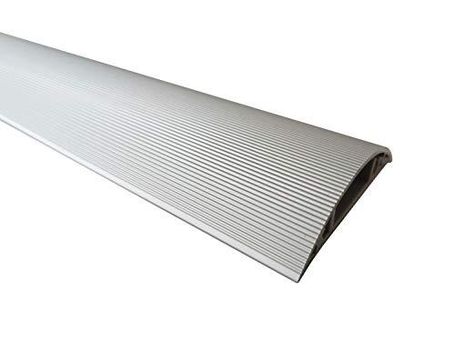 1m Aluminium Fussboden Kabelkanal 50mm breit selbstklebend (Außenmaß)
